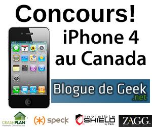 contest - CONCOURS: Lancement canadien de l'iPhone 4!