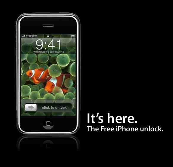 iphone unlock2 - iPhone débarré gratuitement !!!  2 techniques gratuites!