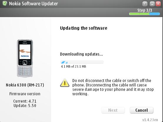 Nokia 6300 // Mise à jour du firmware chez Fido tutoriels  upgrade update nsu Nokia nemesis firmware 6300
