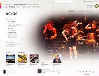 zune artist info 200x153 - Microsoft Zune 3G 120Go et la mise-à-jour 3.0 [Évaluation]