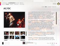 zune artist info bio 200x153 - Microsoft Zune 3G 120Go et la mise-à-jour 3.0 [Évaluation]