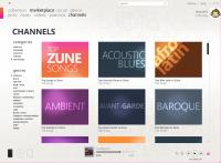 zune channels 200x147 - Microsoft Zune 3G 120Go et la mise-à-jour 3.0 [Évaluation]