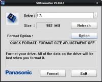 panasonic formatter 200x161 - Acekard 2i :: Guide pour débutants [Tutoriel]