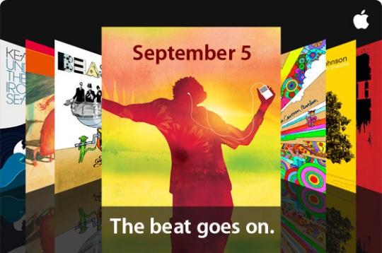 apple septembre 2008 beat goes on2 - Évènement Apple le 9 septembre, quoi de neuf?