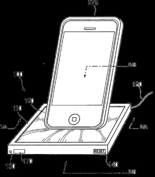 dock universel eponge 526x600 - Dock universel à mémoire de forme d'Apple