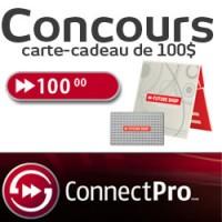 concours connectpro 100 dollars 200x200 - CONCOURS: Gagnez une carte-cadeau Future Shop de 100$