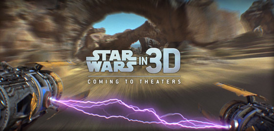 La sexalogie de Star Wars en 3D