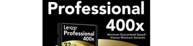 lexar pro compact flash 400x - Carte CompactFlash Lexar Professional 400x [Test]