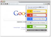 """browser 200x147 - Donnez à des causes charitables grâce à """"Chrome for a Cause"""""""