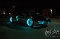 wcc tron night 010 200x132 - Une Audi R8 à la TRON:Legacy!