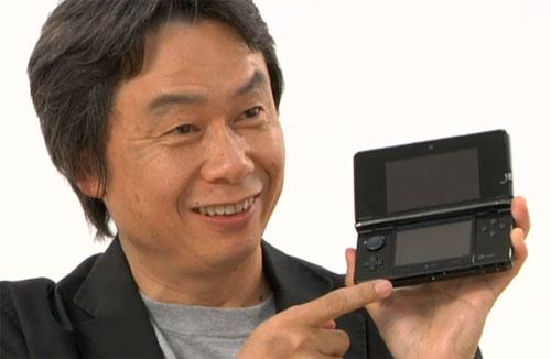 Première mise à jour de la Nintendo 3DS!