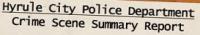hyrule police departement 200x35 - Les rapports de police sur les méfaits de Link!