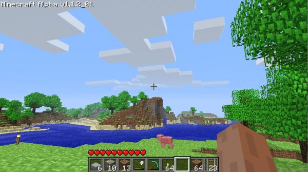 Minecraft, le monde des blocs a la une actualites  xperia sony ericsson minecraft jeu ios en vedette android