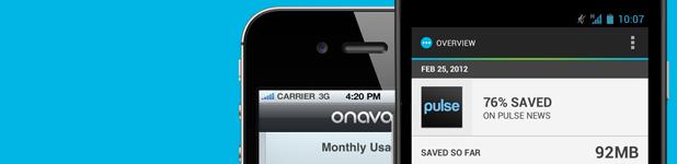 onavo - Onavo, mise à l'essai du compresseur de données cellulaires