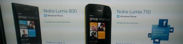 nokialumialeak e1319570256778 - Voici les premiers téléphones WP7 de Nokia?