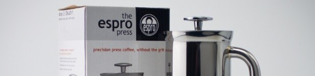 Espro Press, cafetière à piston sans résidu [Test]