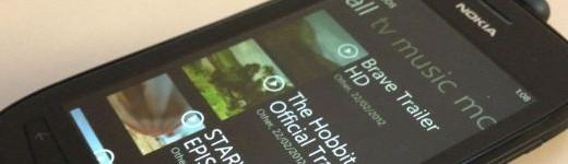 Nokia Lumia 710 - entete