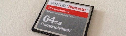 photo 4 520x150 - Carte Compact Flash Wintec FileMate Profesionnal 64Go [Test]