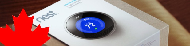Le thermostat Nest est disponible au Canada!
