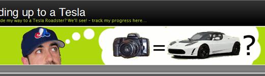 teslatradup 520x150 - Échanger une caméra contre une Tesla Roadster?
