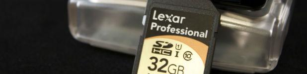 Carte Lexar Professional SDHC 600x [Test]