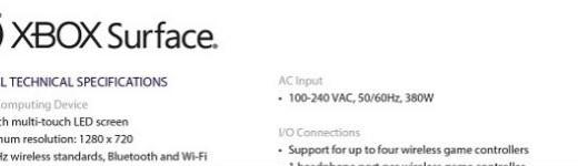 xbox surface enete 520x150 - La XBOX Surface, les spécifications techniques [Fuite]