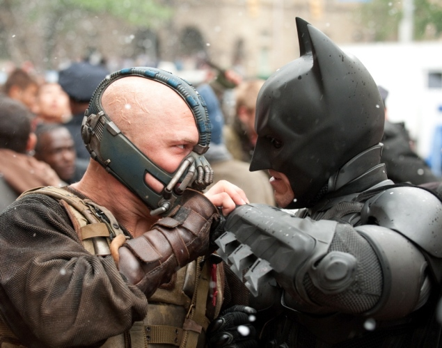 Bane et Batman - The Dark Knight Rises : La fin d'une épopée