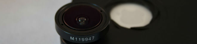 Système iPro Lens pour iPhone 4 et 4S