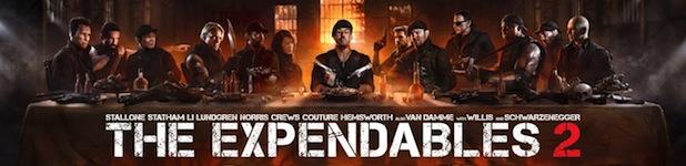 The Expendables 2 La Cène - The Expendables 2 : Le retour des dinosaures de l'action