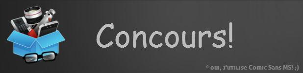 concours banniere - Gagnez une carte SDHC 32Go de Lexar [Concours]