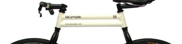 bicymple - Le bicymple, un design de vélo sans chaine