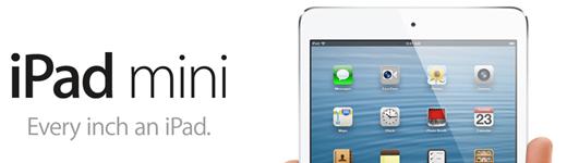 ipad mini 520x150 - Macs, Retina, iPad 4G et iPad Mini [Résumé]