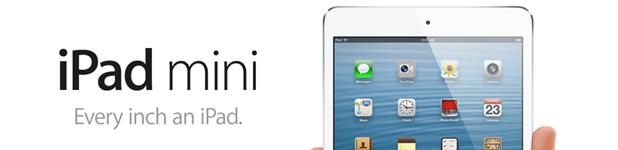 Macs, Retina, iPad 4G et iPad Mini [Résumé]