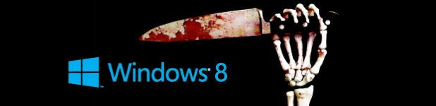 Windows 8, une critique sanglante