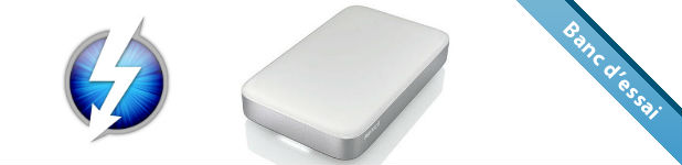 Disque dur externe Buffalo MiniStation Thunderbolt [Test]