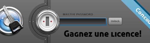 Gagnez 1Password avec le Blogue de Geek!