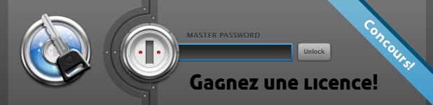 concours 1password - Gagnez 1Password avec le Blogue de Geek!