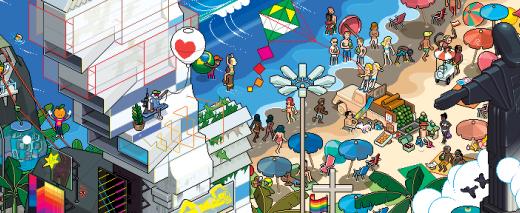 EBY Rio Poster 34k 882x623 e1355333609748 520x213 - eBoy et pixels, une histoire d'amour!