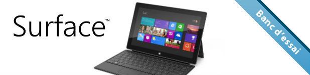 microsoft surface - Microsoft Surface [Test]