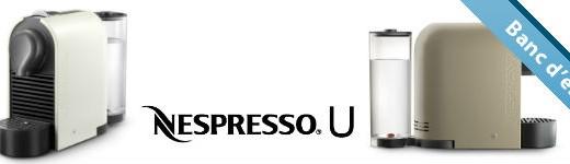 Nespresso U, flexible et compacte [Test]