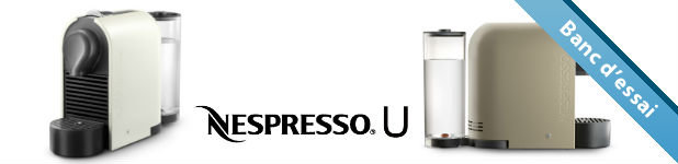 Nespresso U, flexible et compacte [Test]