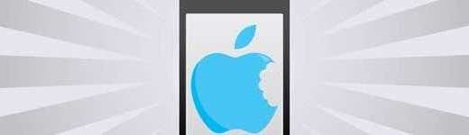 bite out of apple thumb 520x150 - Comment Apple dépense son argent [Infographique]