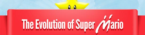 L'évolution de Mario [Infographique]