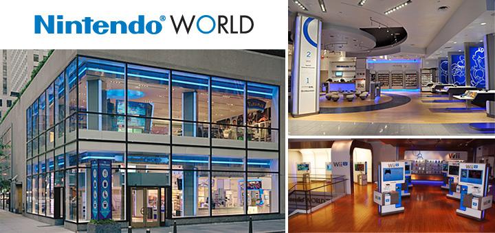 Connaissez-vous le Nintendo World Store?