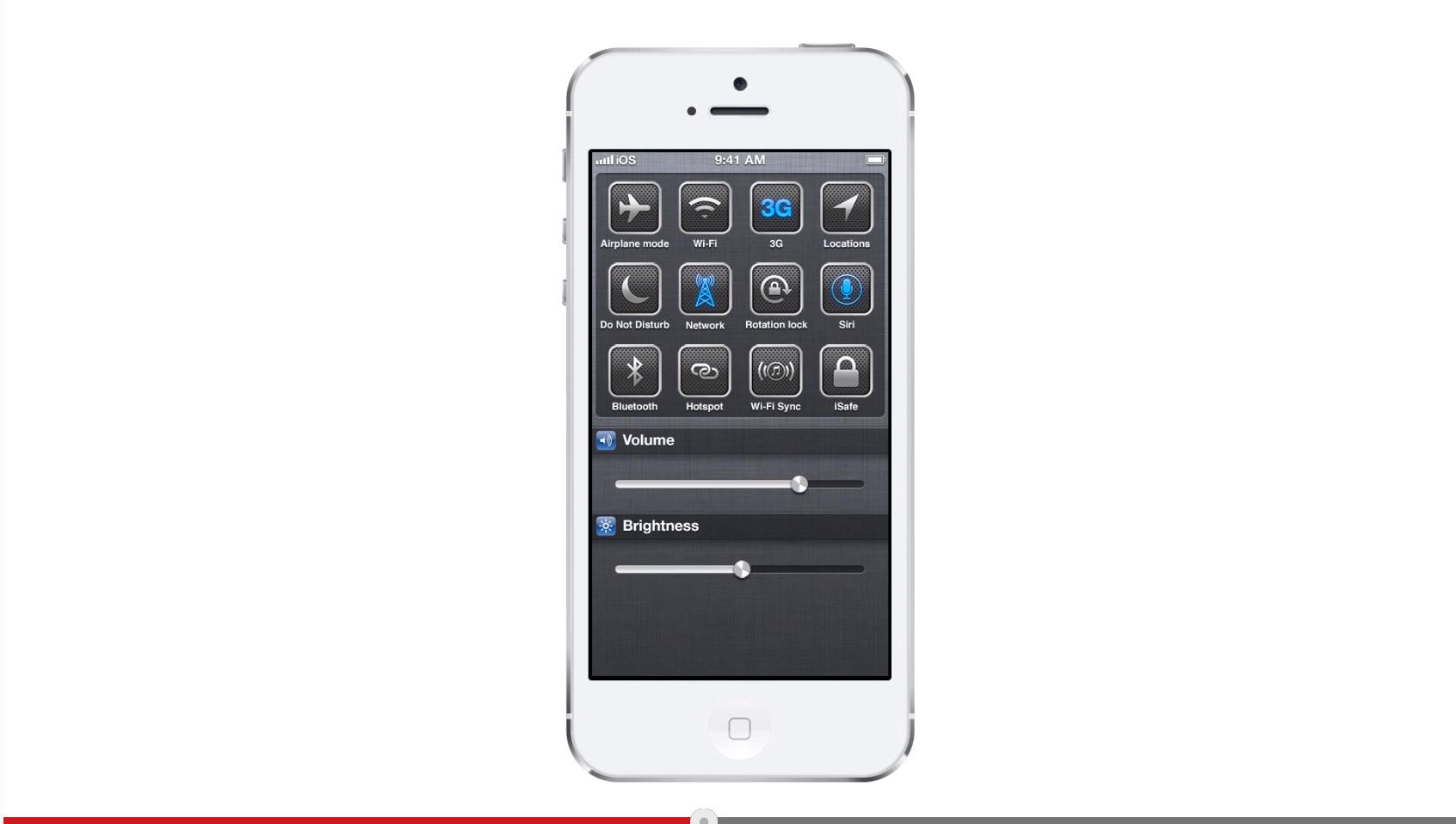 ios7 demo - Une proposition d'interface pour iOS 7