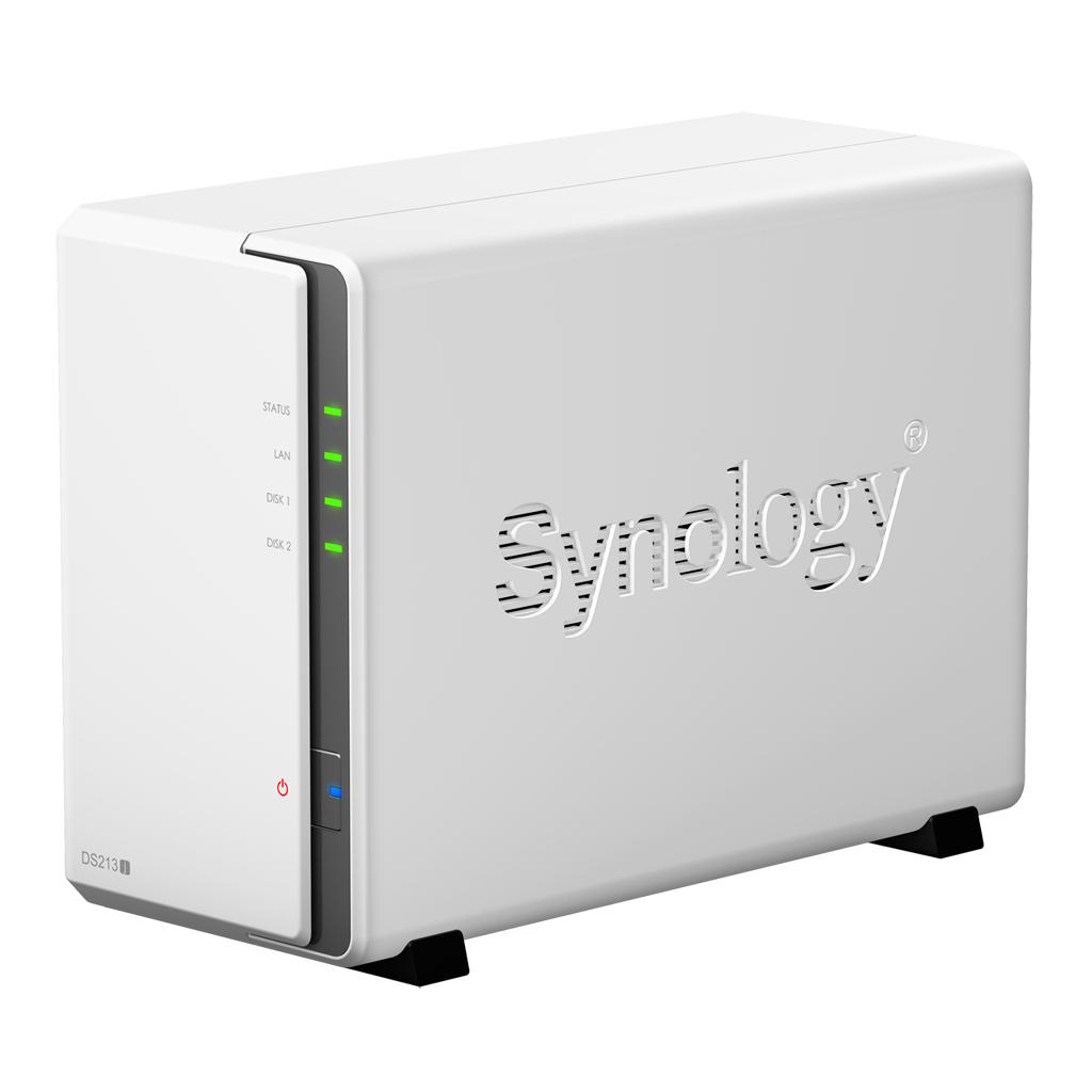 002 - Synology lance le nouveau NAS DS213j