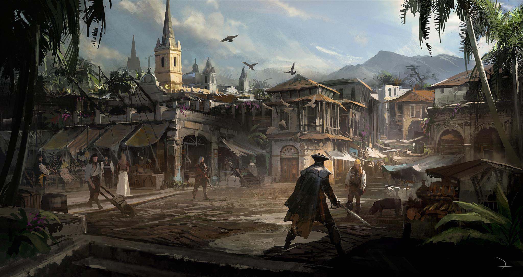 ACIVBFLaHavane - Assassin's Creed IV Black Flag, nouveau vidéo (et images!)