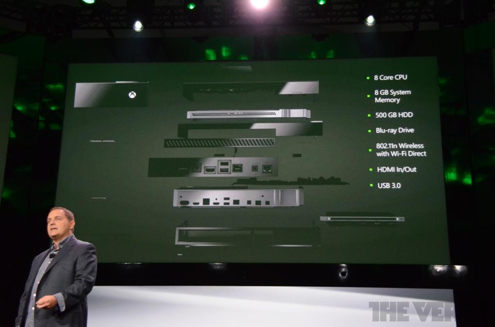 LB 4462 - XBOX One, la nouvelle console de Microsoft