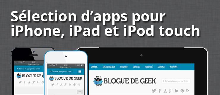 Selection d apps ios - Sélection d'applications iOS en solde du jour
