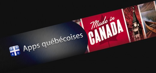 Applications du Québec et du Canada
